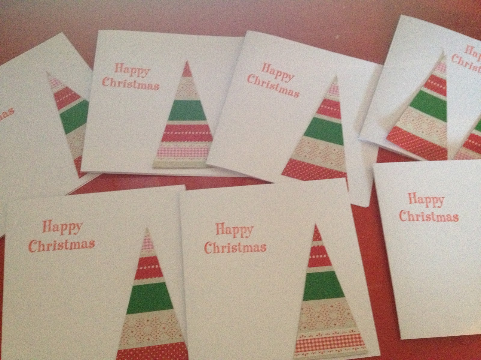 a thrifty mum easy christmas cards to make with children