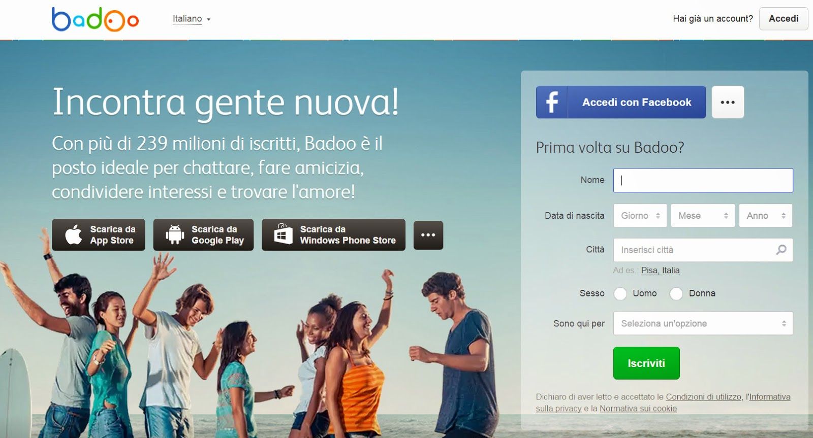 siti incontri migliori utilitarie Bologna
