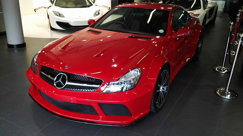 Mercedes benz sl65 amg black series in south africa for Mercedes benz south africa
