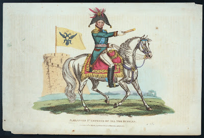 'Alexander 1st Emperor of all the Russias'(1815). Colección de impresos de Miriam and Ira D. Wallach Division of Art, Prints and Photographs, tomado de http://digitalgallery.nypl.org