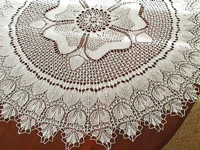 Lace knitting-Knitting Gallery