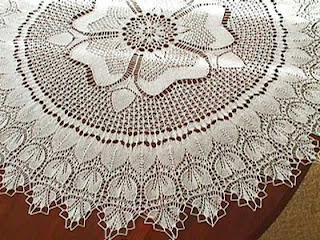 Lace Knitting Pattern Library : Lace knitting-Knitting Gallery
