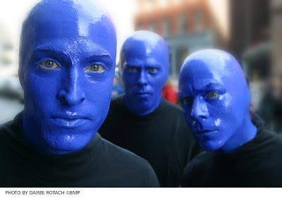 Blue Man Group Photo by Darbe Rotach