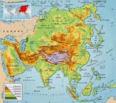 Ciencias Sociales Mapas interactivos de Enrique Alonso Asia Fsico