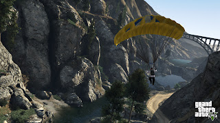 Grand Theft Auto V  GTA V parachot