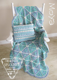 {Doing Life} TRIANGLE SPLENDOUR THROW