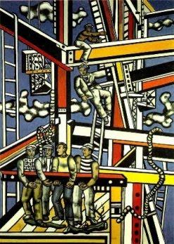 """Fernand Leger """"Οι χτίστες"""", 1950"""