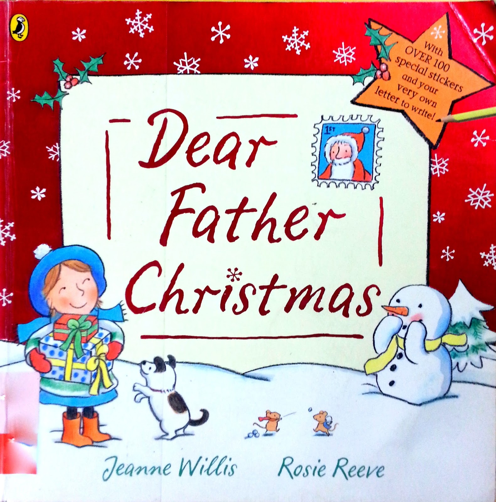 The kids book nook dear father christmas dear father christmas spiritdancerdesigns Gallery