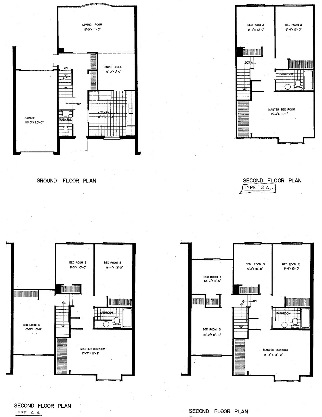 Mid century modern and 1970s era ottawa carriage homes for Carriage house floor plans