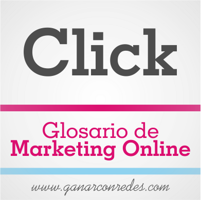 Click | Glosario de marketing Online