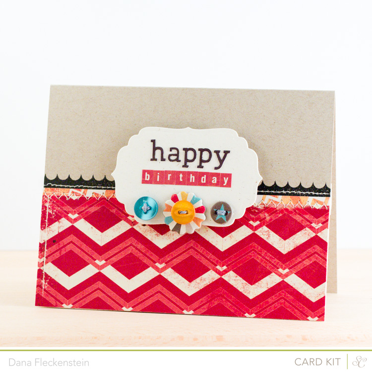 Handmade boy birthday card by @pixnglue using the Studio Calico Neverland Kit