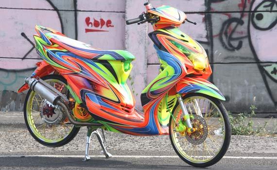 Gambar Cara Modifikasi Yamaha Mio Soul title=