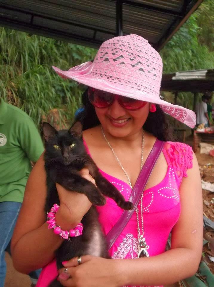 Madu Nithyani cat