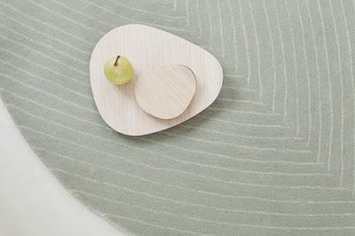 Quill, la nueva alfombra de nanimarquina by Nao Tamura
