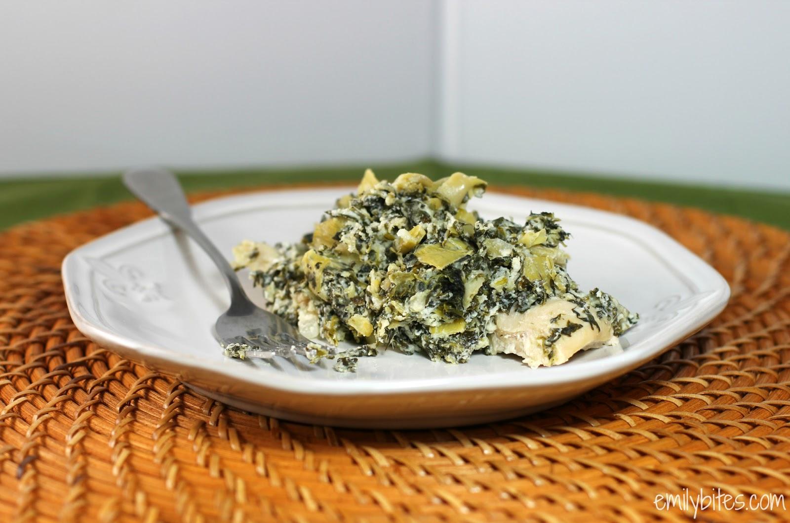 Spinach Artichoke Cream Cheese Recipe — Dishmaps