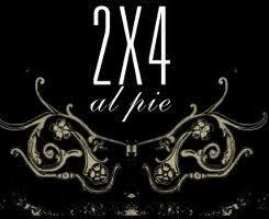 2x4 al pie