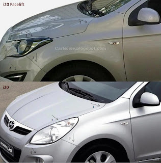 New vs Old Hyundai i20: Headlight, Foglamp, Bumper