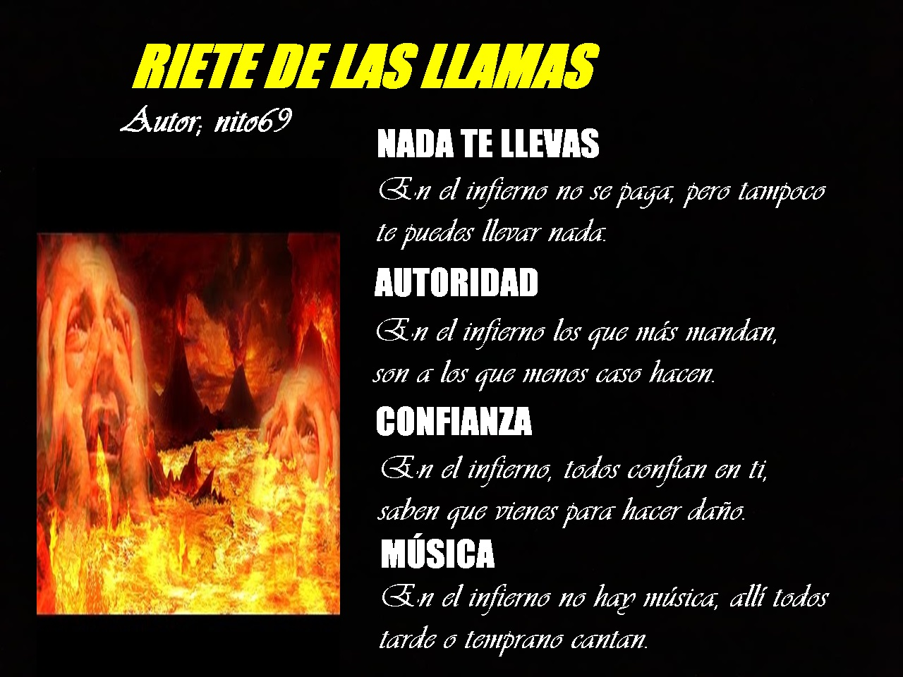 RIETE DE LAS LLAMAS