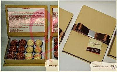 Dia dos Namorados 2014 - Criação da marca Dani Brigadeiro