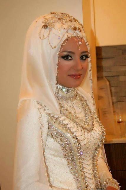 Hijab mariage blanc
