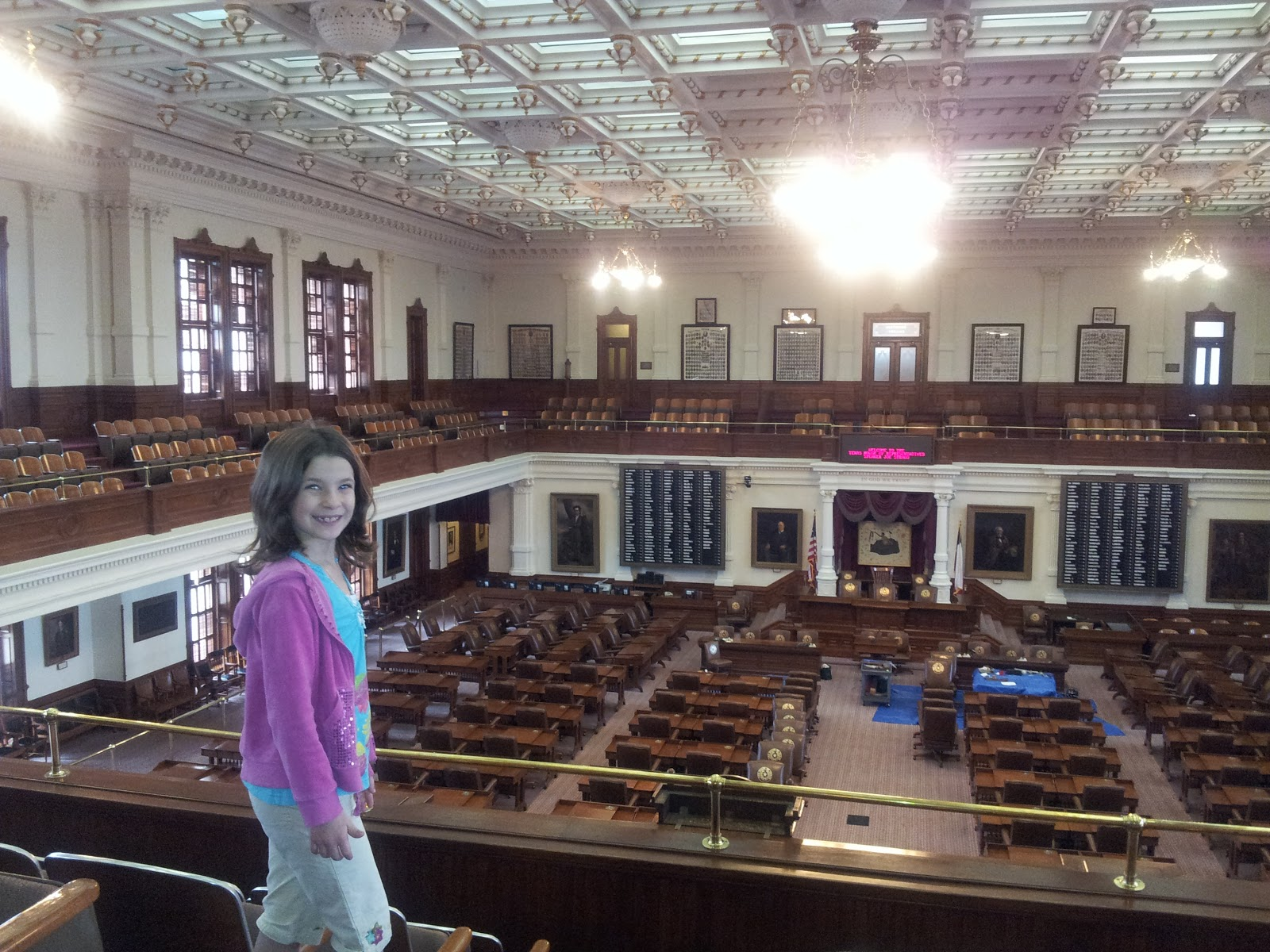 Chairs In Texas Senate Room