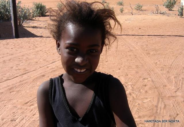a girl in oman wahiba desert