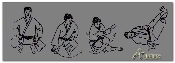 Teknik Dasar Jatuh Samping Olahraga Judo (Yoko-Ukemi)