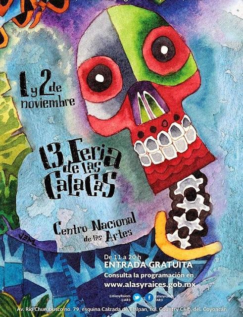 Feria de las Calacas 2013 en el CENART