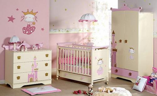 princess themed girls nursery baby room gallery