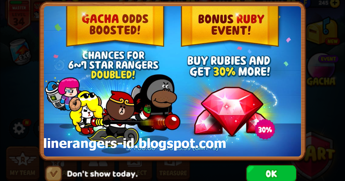 line rangers indonesia event double chance event double. Black Bedroom Furniture Sets. Home Design Ideas