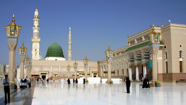 Curious Wallpapers: Masjid Nabawi
