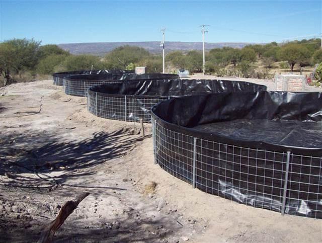 Bio entorno s c estanques de geomembrana for Polietileno para estanques