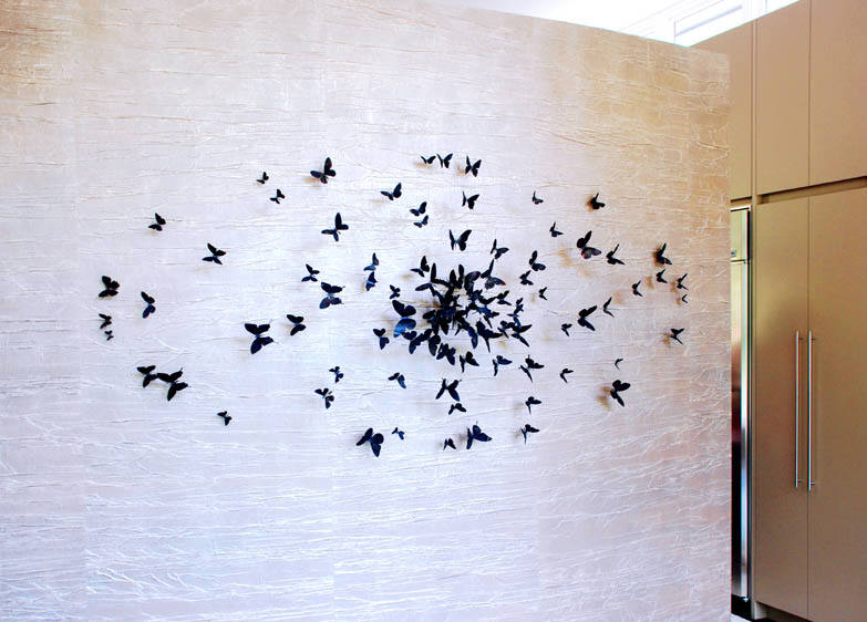 Eternamente flaneur mariposas de paul villinski - Mariposas en la pared ...