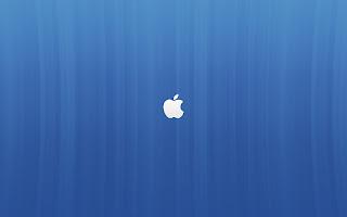 blue Apple Mac logo