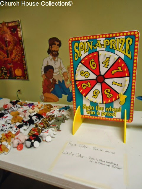 Church Harvest Fall Festival Game Ideas- Duck Pond Game, Candy Corn Bowling, Drop Disc, Spin A Prize, Bean Bag Toss