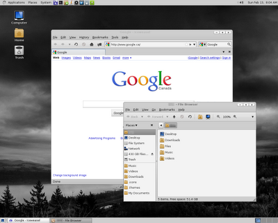 Debian 6.0 Squeeze Screenshot