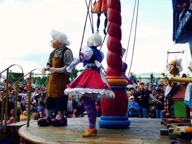 Gepetto et ses marionnettes