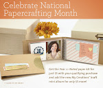 CTMH's January National Papercrafting Month Campaign -- Year >> Noted