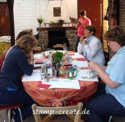stamp and create: workshop nachlese, Einladung