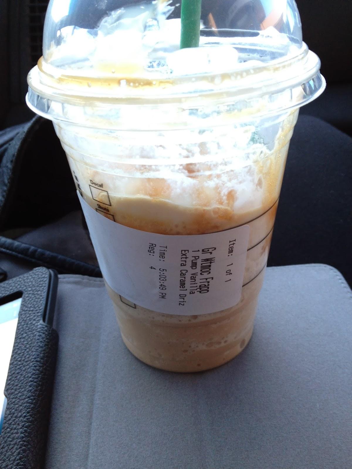 The Chocolate Tease: Starbucks Custom White Chocolate Mocha ...
