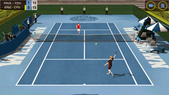 Flick Tennis apk game