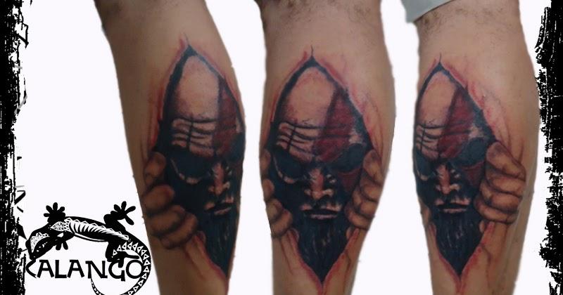 calango tattoo studio kratos god of war