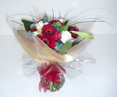 a Bouquet of Flowers Picture