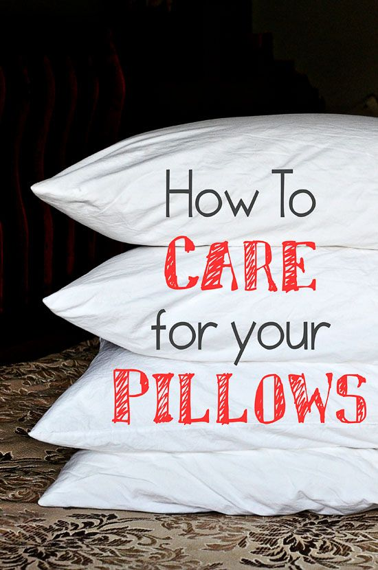 How to wash and whiten yellowed pillows - Whiten yellowed pillows ...