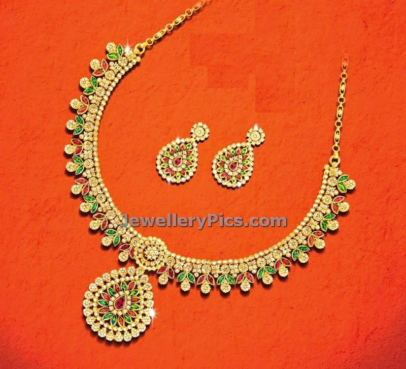 rubies and kundan necklace