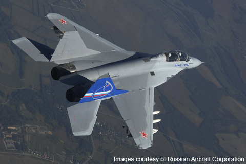 MiG-35 Russian Multirole Fighter Jet