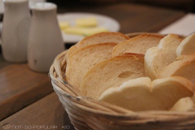 House bread in Casa Armas