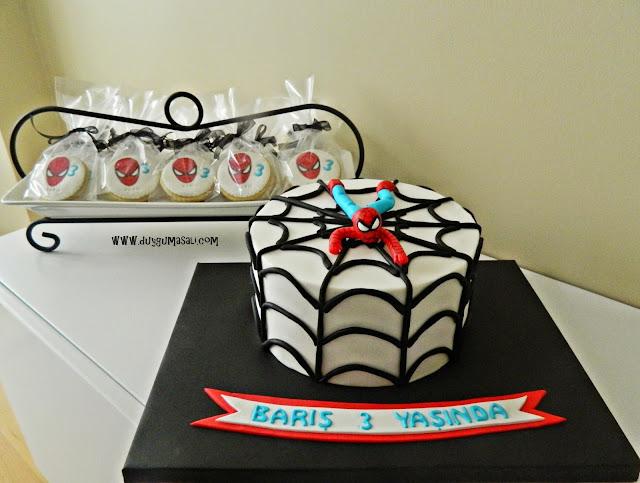 edirne örümcek adam butik pasta