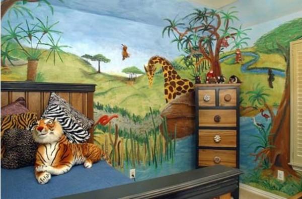 Dekorasi kamar tidur anak yang unik
