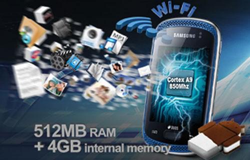 Spesifikasi Samsung Galaxy Music